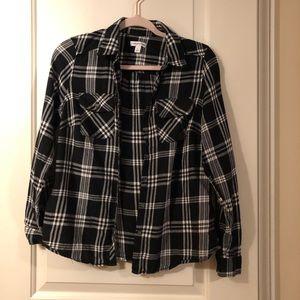 Croft & Barrow flannel button down shirt